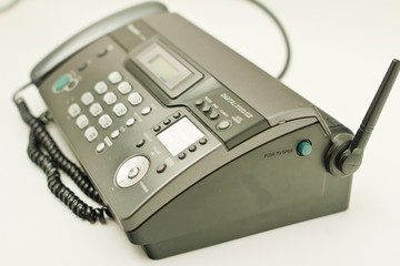 Telephone and fax.