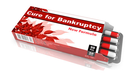 Cure For Bankruptcy, Pack of Pills.