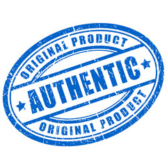 Authentic stamp