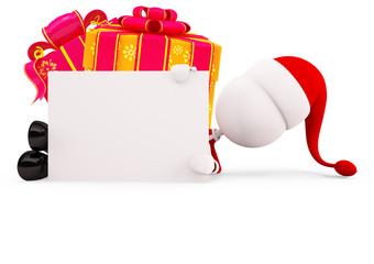 Santa for christmas