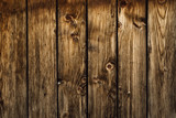 Fototapety Old brown Wood Planks Wall