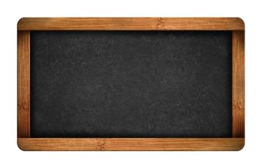 Vintage blank chalkboard slate