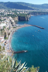 Sorrento coast, Sea, Beach