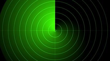 radar, abstract loop motion background