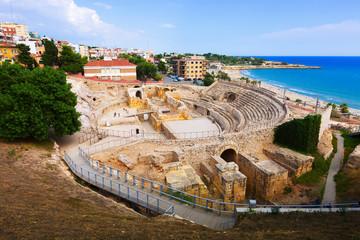 ancient Roman amphitheater at Tarragona