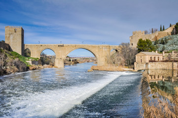 Bridge of San Martin, Toledo (Spain)