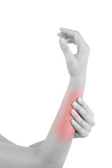 Forearm muscle strain