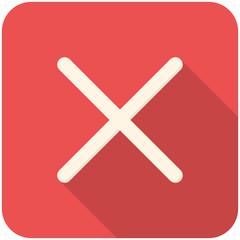 Close or delete icon