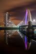 Leinwanddruck Bild - Bridge