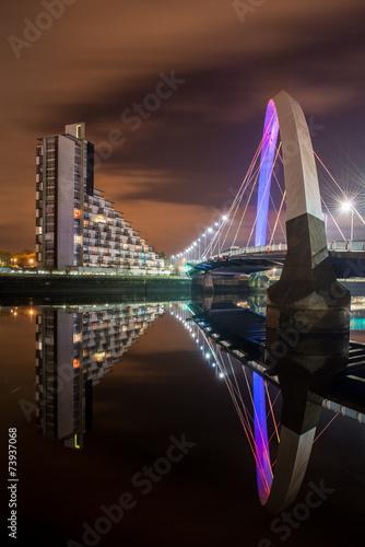 Leinwanddruck Bild Bridge