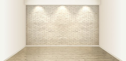 White stone wall at the room