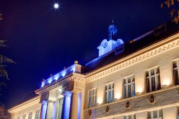 facade on a classical building