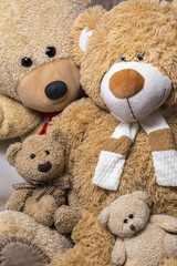 Teddy bear family