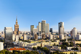 Warsaw business district - 73941460