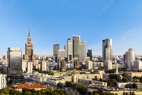 Warsaw business district