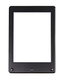 Portable e-book reader for book and screen. You may add your own