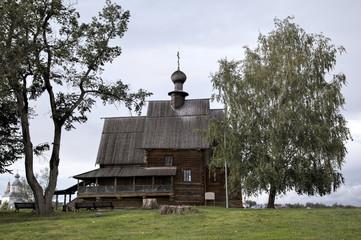 Суздальский кремль: Никольская церковь.  Суздаль, Золотое кольцо