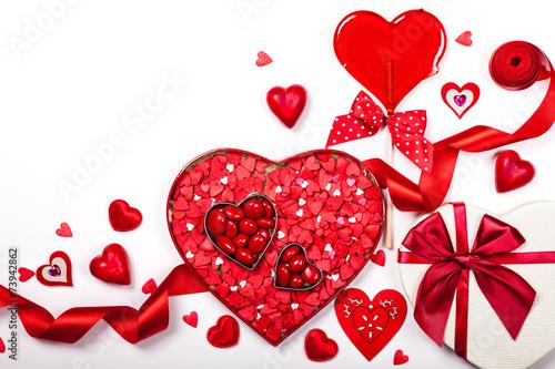 Valentine's Day candies - 73942862