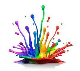 Farbspritzer 3