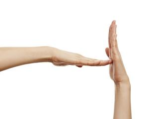 Handzeichen Auszeit