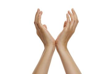 offene Hände, hochhalten 2