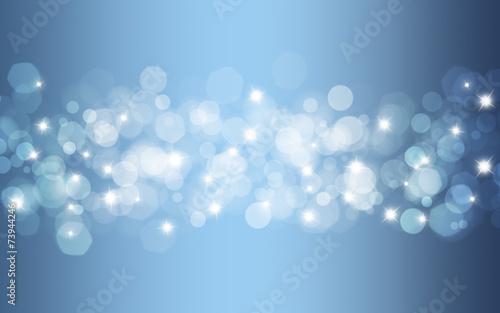 canvas print picture Hintergrund blau