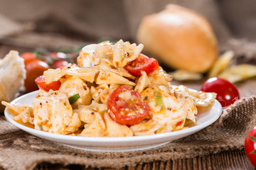 Pasta Salad (with Farfalle)