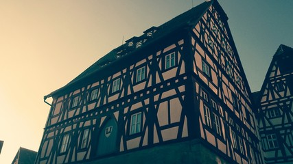 Fleisch und tanzhaus rothenburg vintage