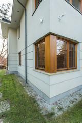 Corner of house