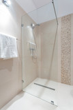 Fototapety Shower with glass door