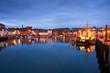 Fishing harbour in Weymouth, Dorset, UK. - 73946636