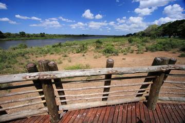 pianure della savana parco nazionale del kruger sudafrica