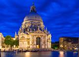 Canal Grande and Basilica di Santa Maria della Salute, Venice