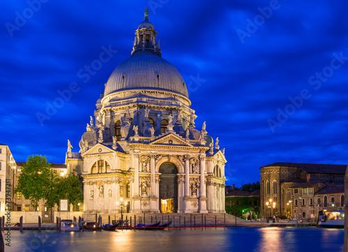 Tuinposter Venice Canal Grande and Basilica di Santa Maria della Salute, Venice