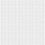Black and white geometric seamless pattern with weave style.