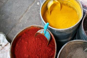 Spices in Medina Morocco