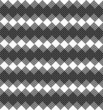 Black and white geometric stripe seamless pattern