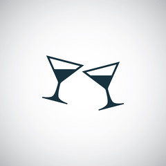 drink glasses icon