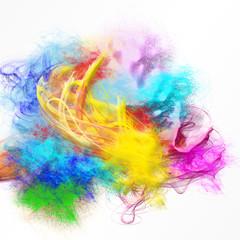 movimento di colori