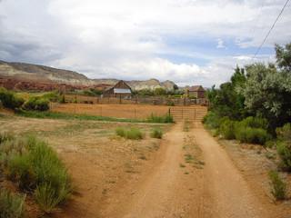 Ranch in rural Utah