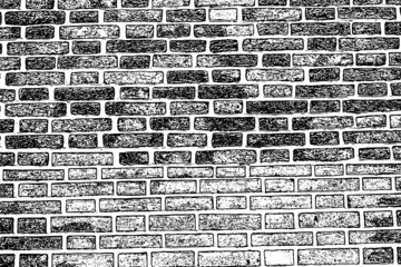brick wall texture background old rough masonry