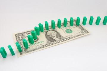 domino on dollar