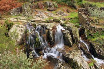 Cascada de la Pesquera, Sauceda, Hurdes, España
