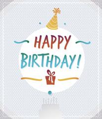 Happy birthday vector 4