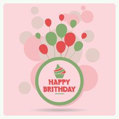 Happy birthday vector 5