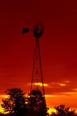 Sunrise Farm Windmill