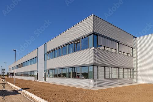 Fotobehang Industrial geb. aluminum facade
