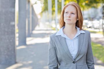 Businesswoman in Rotterdam