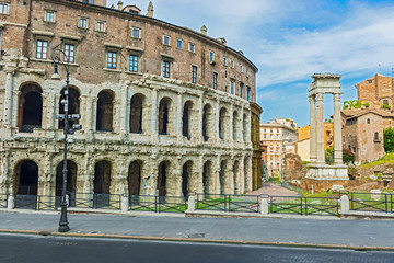 Theater of Marcellus in Rome, Italy