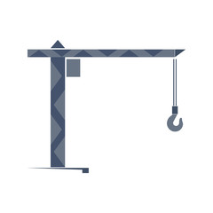 Turret slewing crane icon